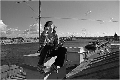 Фотожурналист Сергей Максимишин. Санкт-Петербург. Гуляющие по крышам (11 картинок)
