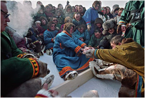 Фотожурналист Сергей Максимишин. Ямал. День оленевода (13 картинок)