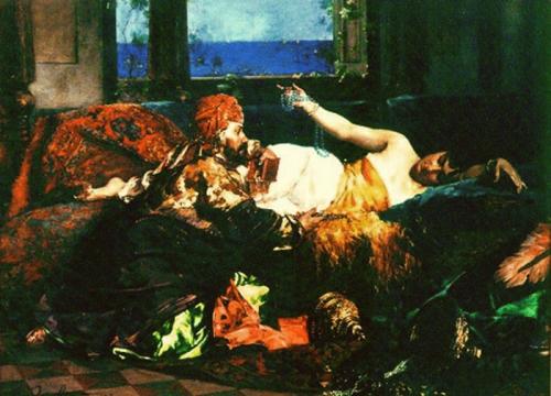 Французский художник Edouard Frederic Wilhelm Richter (1844-1913) (36 работ)