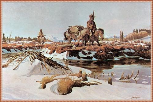 Художник John Clymer (44 картинок)
