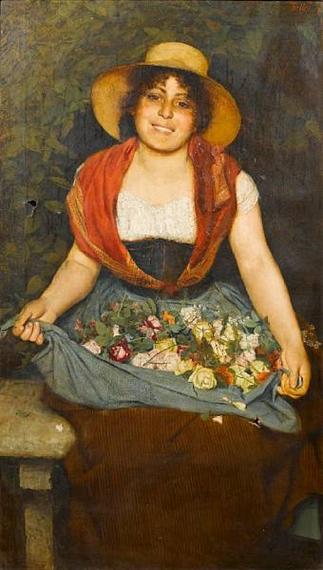 Итальянский художник Gaetano Bellei (1857-1922) (44 картинок)