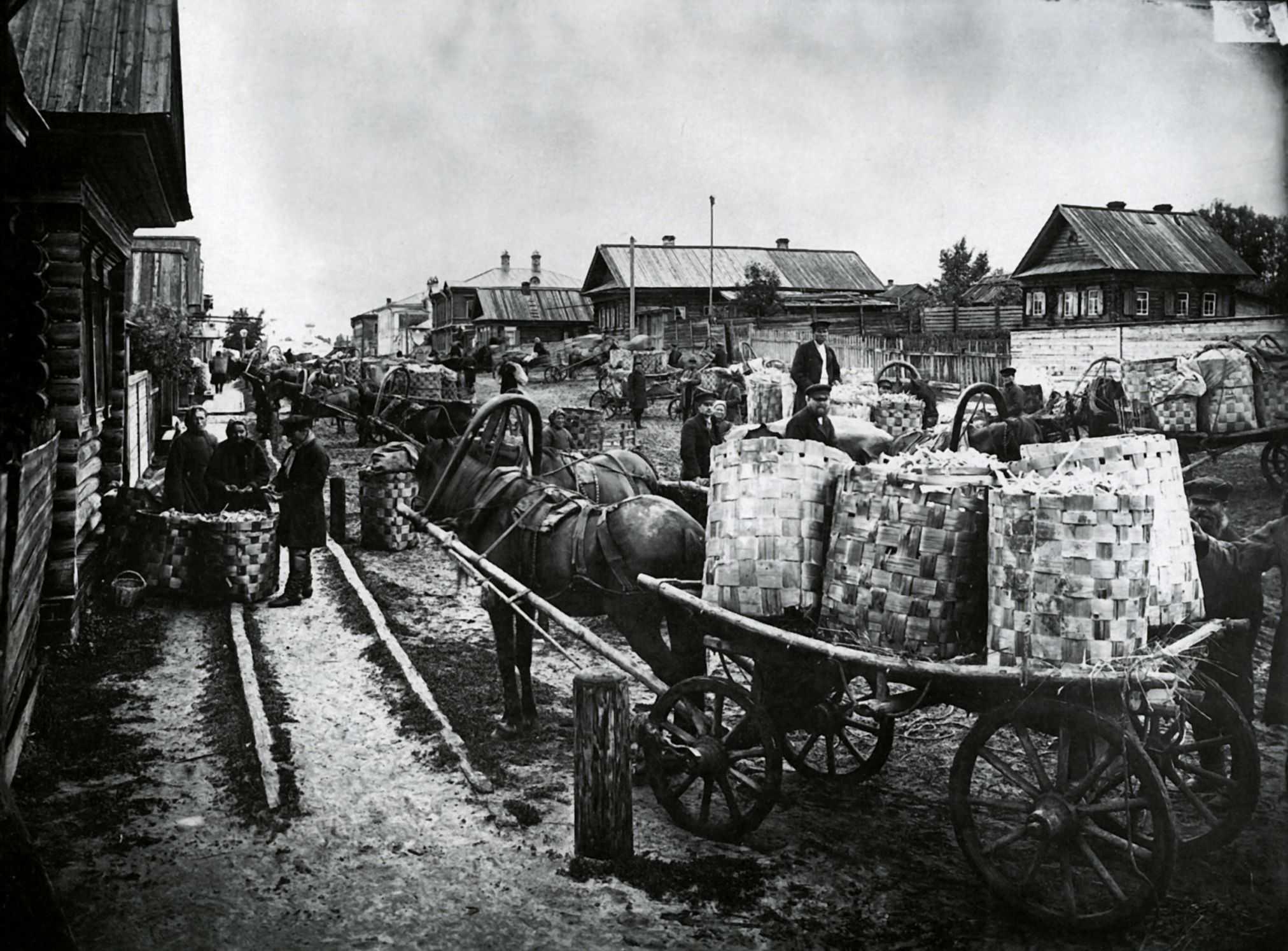Фото русских деревень прошлого столетия 26 фотография