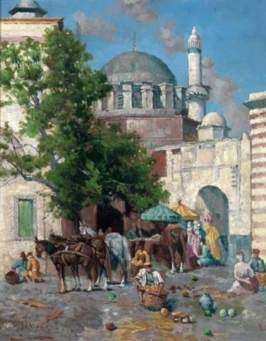 Итальянский художник Filippo Indoni (1842 – 1908) (71 картинок)