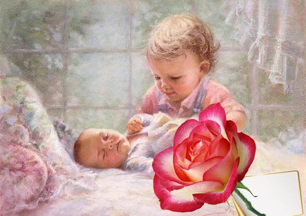 Поздравления сестры с рождением открытки с