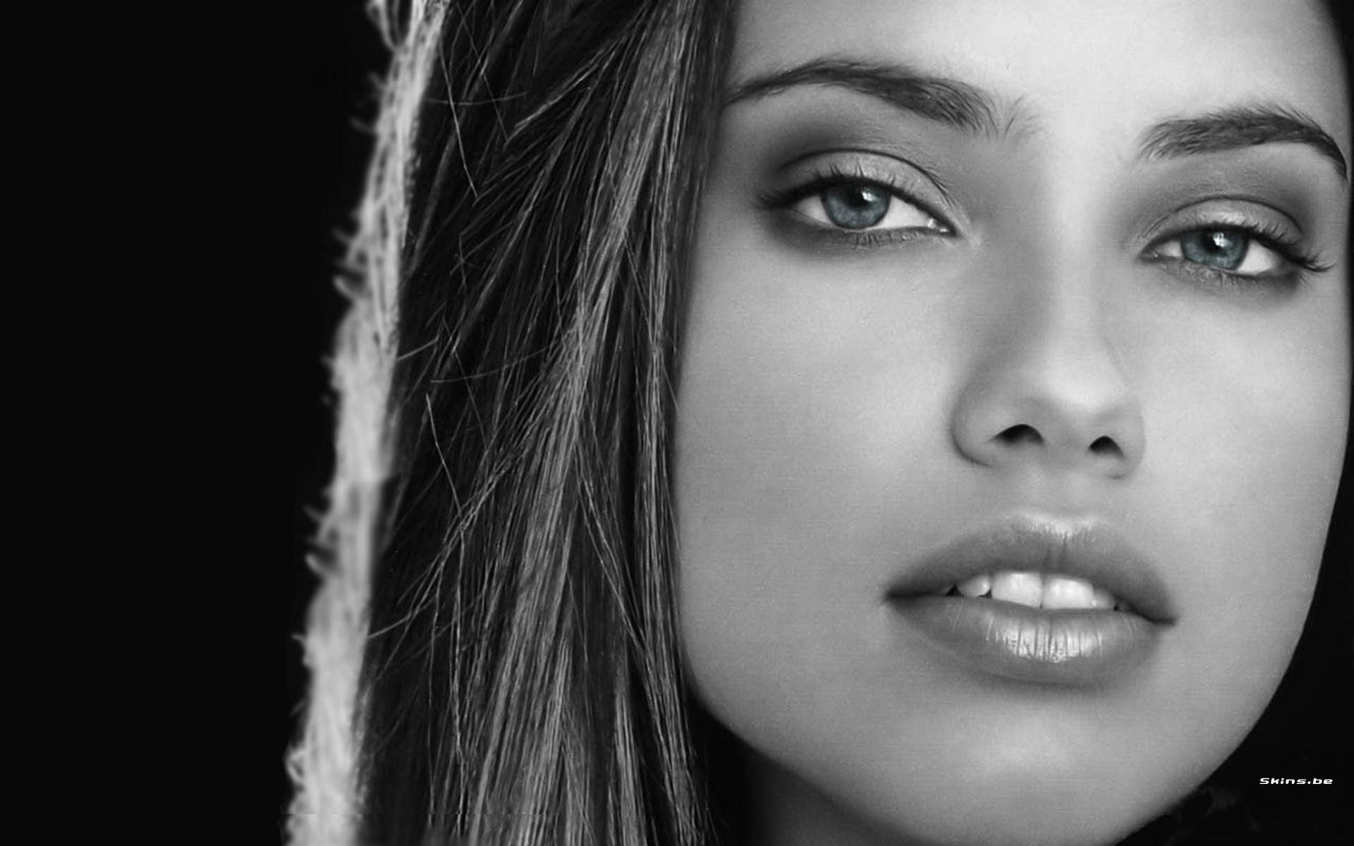 Фото лица красивых моделей 19 фотография
