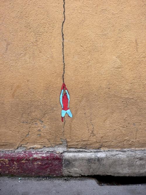 Уличный художник OaKoAk (32 картинок)