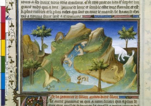 Европейская графика 14-16 в.в. Слоны (58 картинок)