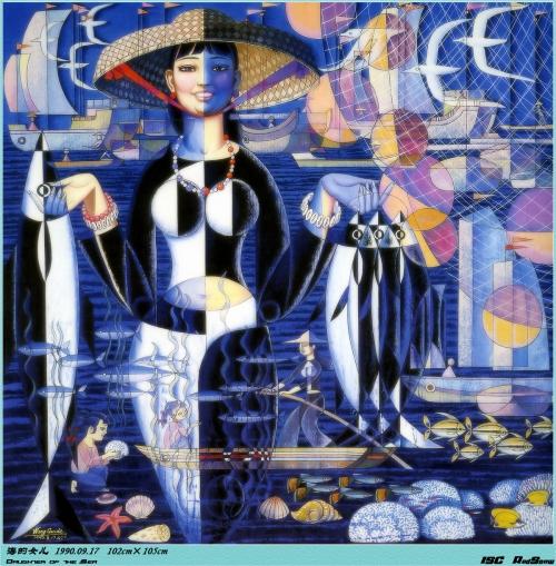 Работы Wang Cunde (49 картинок)