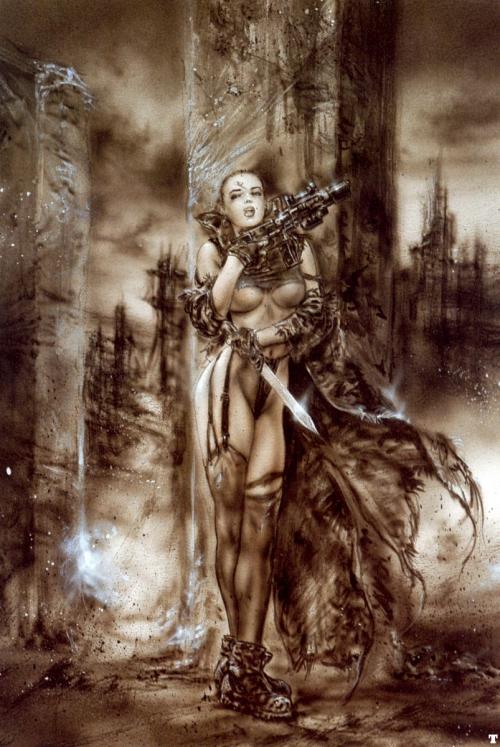 Фантастические мифы Луиса Ройо (323 картинок)