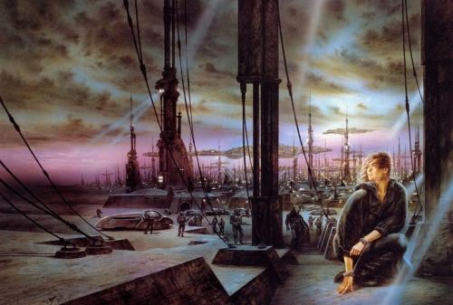 Фантастические мифы Луиса Ройо (323 работ)