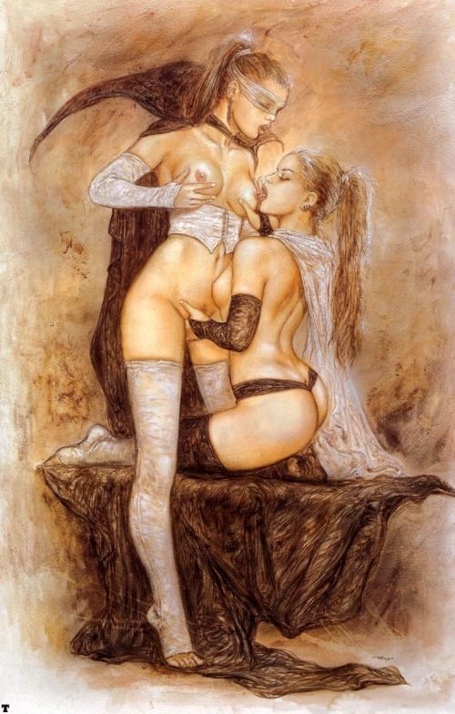 Картины живописи лесбиянок