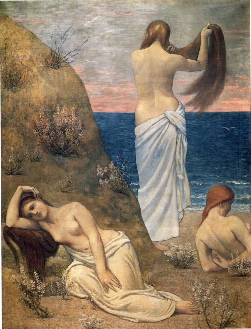 Художник Pierre Cecile Puvis Da Chavannes (49 работ)