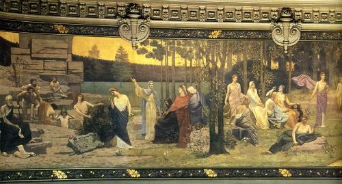 Художник Pierre Cecile Puvis Da Chavannes (49 картинок)