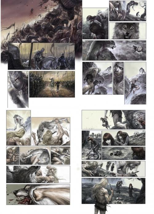 Работы Liu Dongzi (39 картинок)