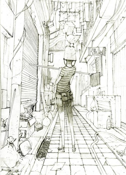 Рисунки Gabriel Iumazark. Часть 1 (74 картинок)