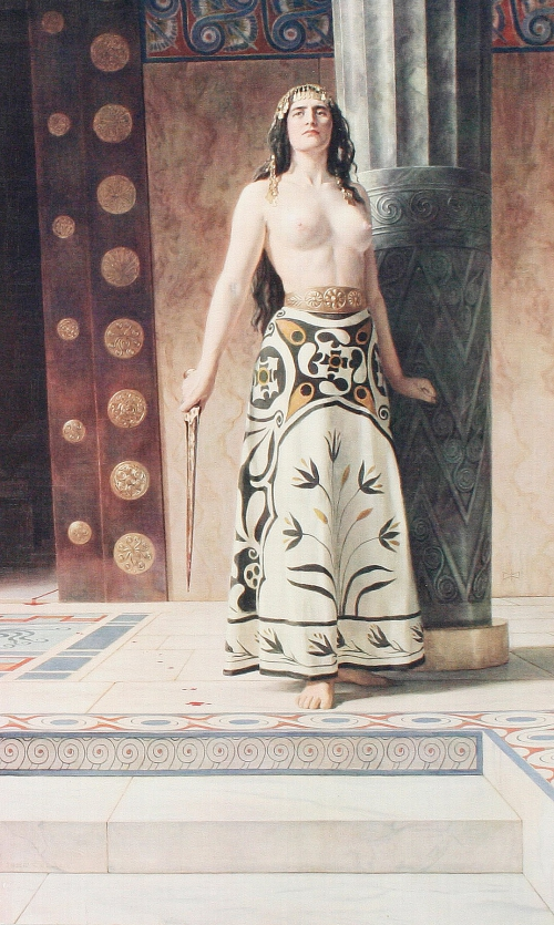 Английский художник Джон Кольер (1850-1934) (75 картинок)