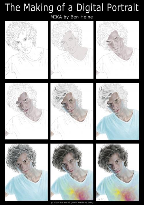 Работы Benjamin Heine (44 картинок)