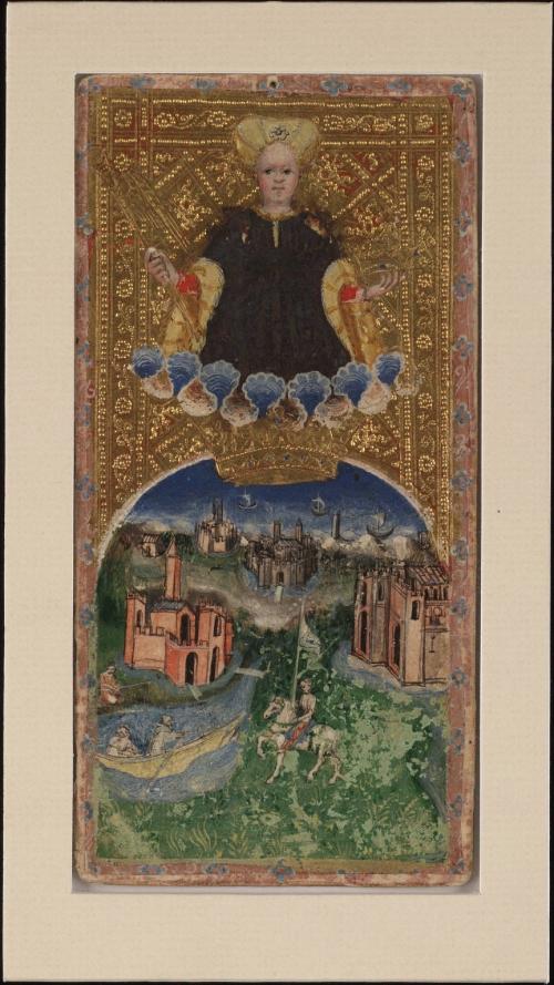 Visconti Tarot (61 картинок)