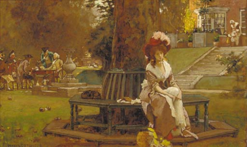 Marcus Stone (British, 1840-1921) (56 работ)
