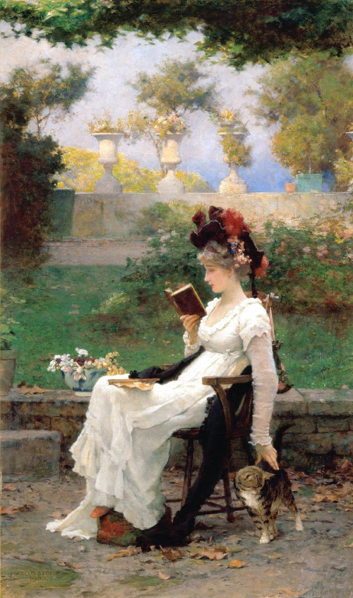 Marcus Stone (British, 1840-1921) (56 картинок)
