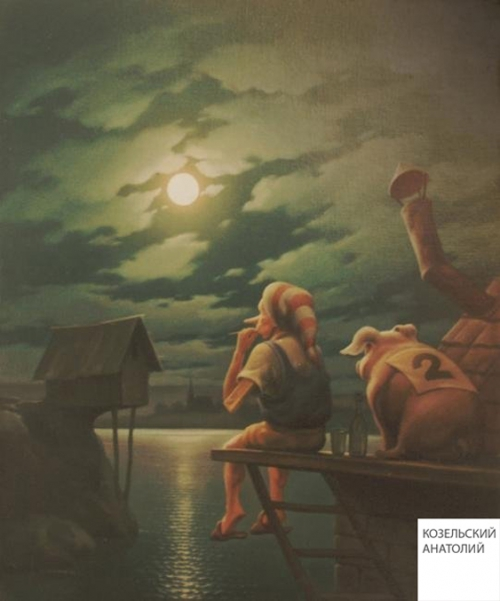 Живопись Анатолия Козельского (80 работ)