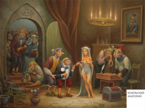 Живопись Анатолия Козельского (80 картинок)