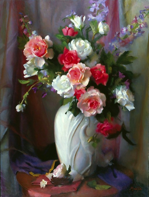 Painting by Mary Minifie. Still Life (15 работ)