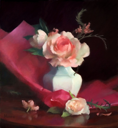 Painting by Mary Minifie. Still Life (15 картинок)