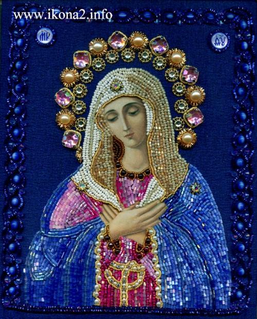 схема вышивки крестом божьей матери - Схемы.