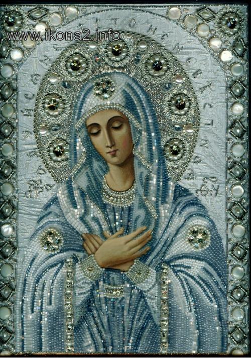 """Икона Божией Матери  """"Умиление """" Серафимо-Дивеевская принадлежала преподобному Серафиму Саровскому, была его келейной..."""