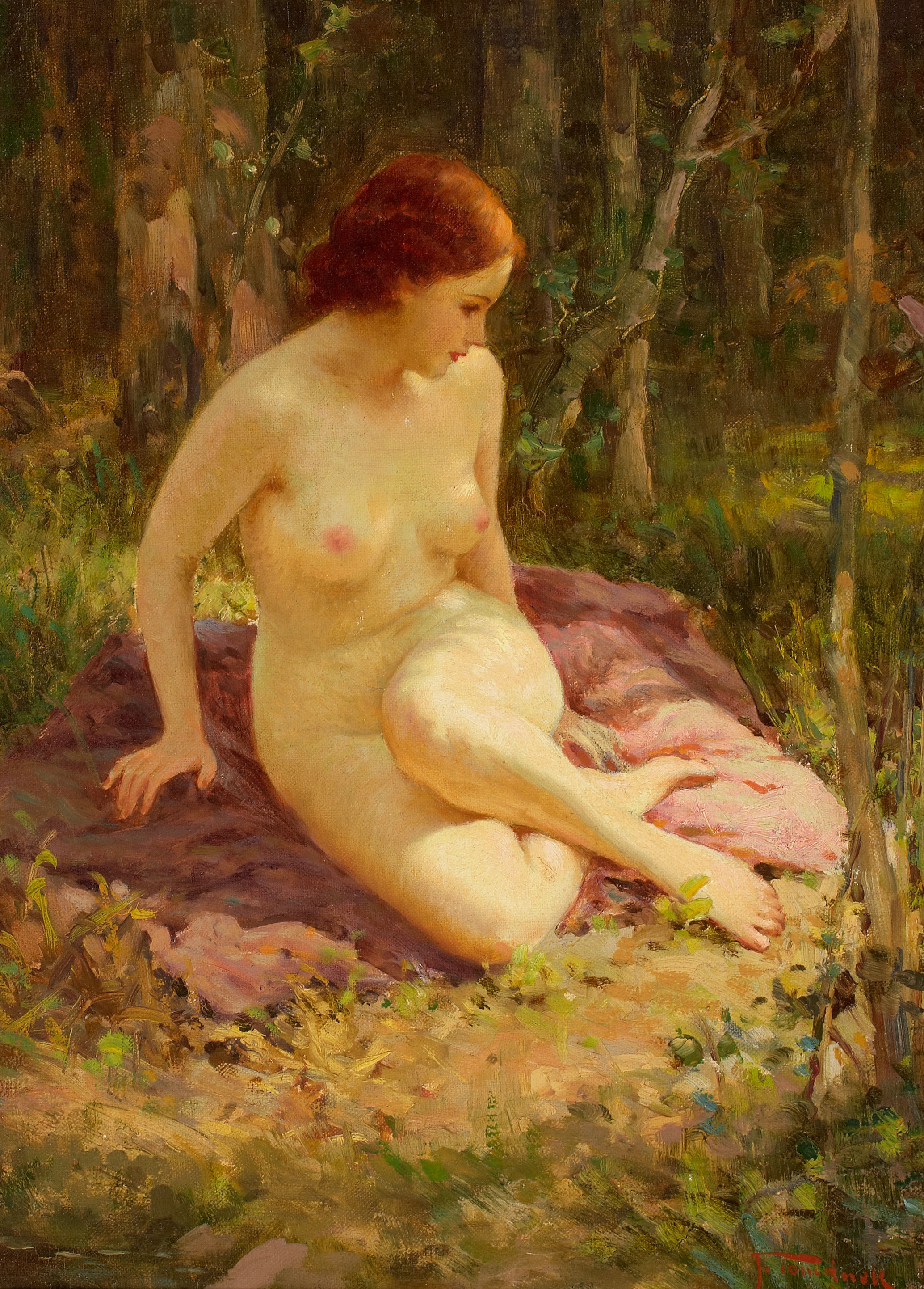 Художники рисуют голых девушек 30 фотография