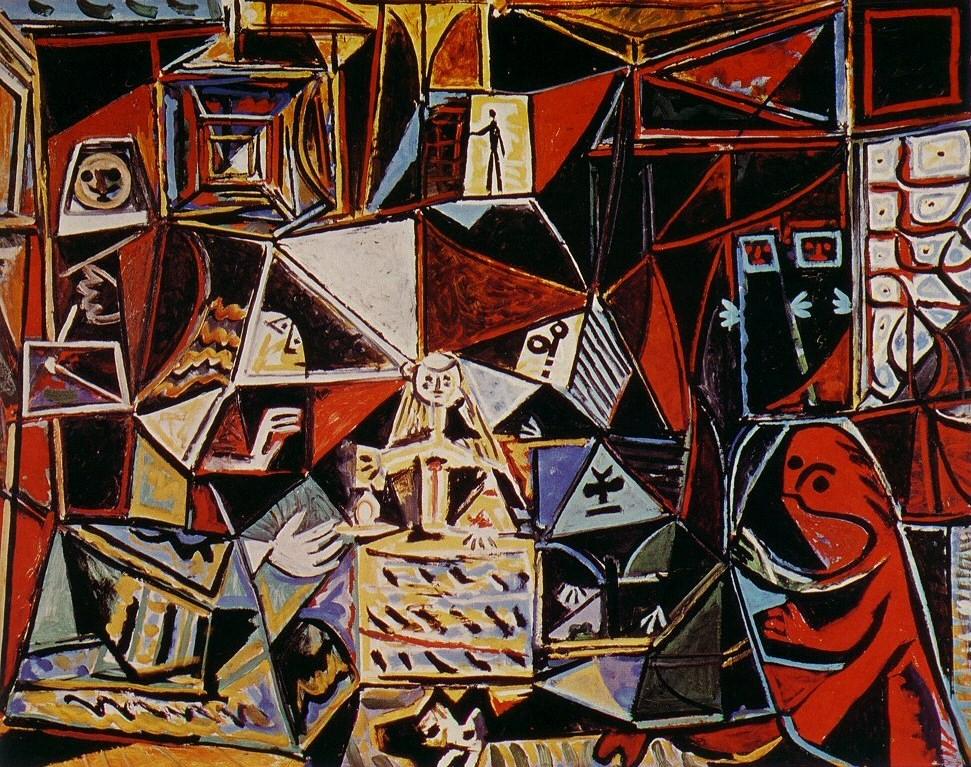 Пабло Пикассо. Менины. 1957.