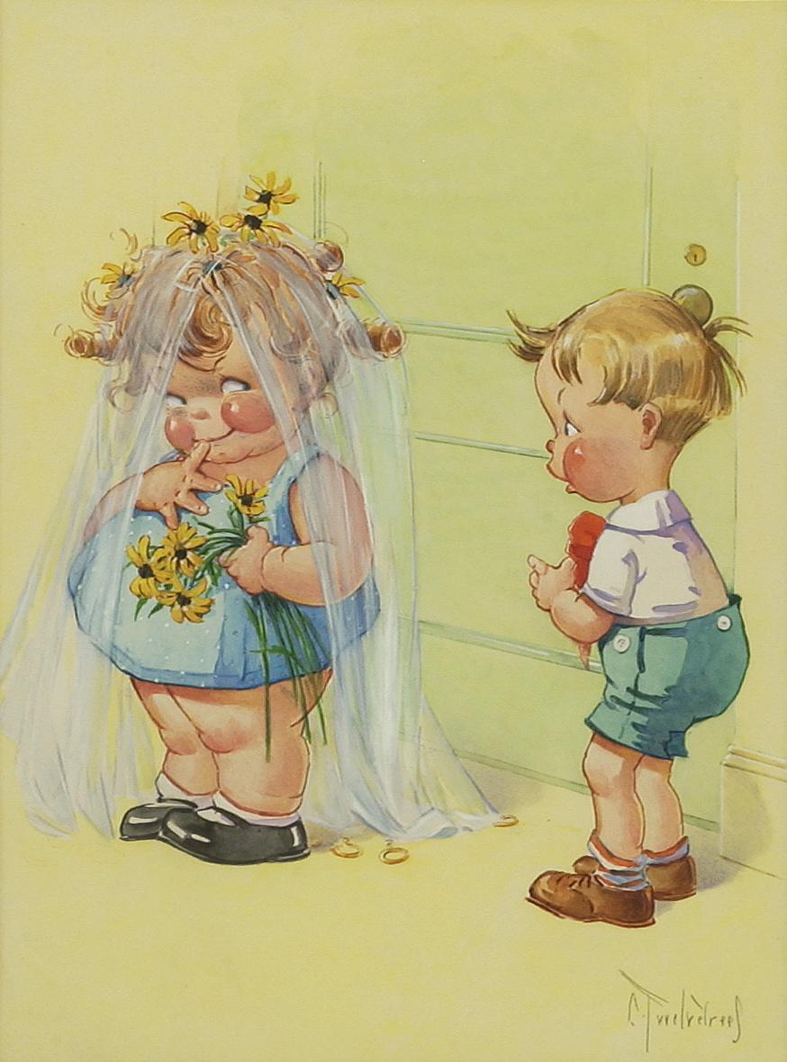 открытки с забавными детьми