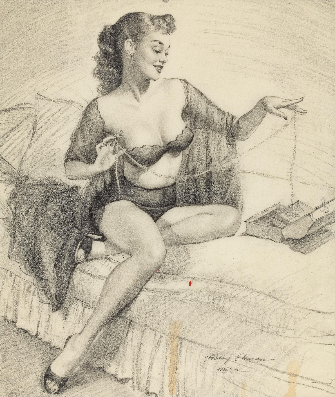 Порно рисунки карандашом секса