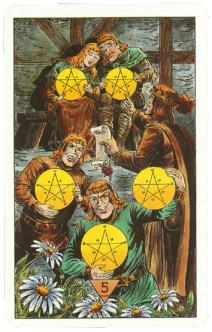 Карты Таро (Зеркало Судьбы) Arcus Arcanum Tarot (Mirror of Destiny) (80 работ)