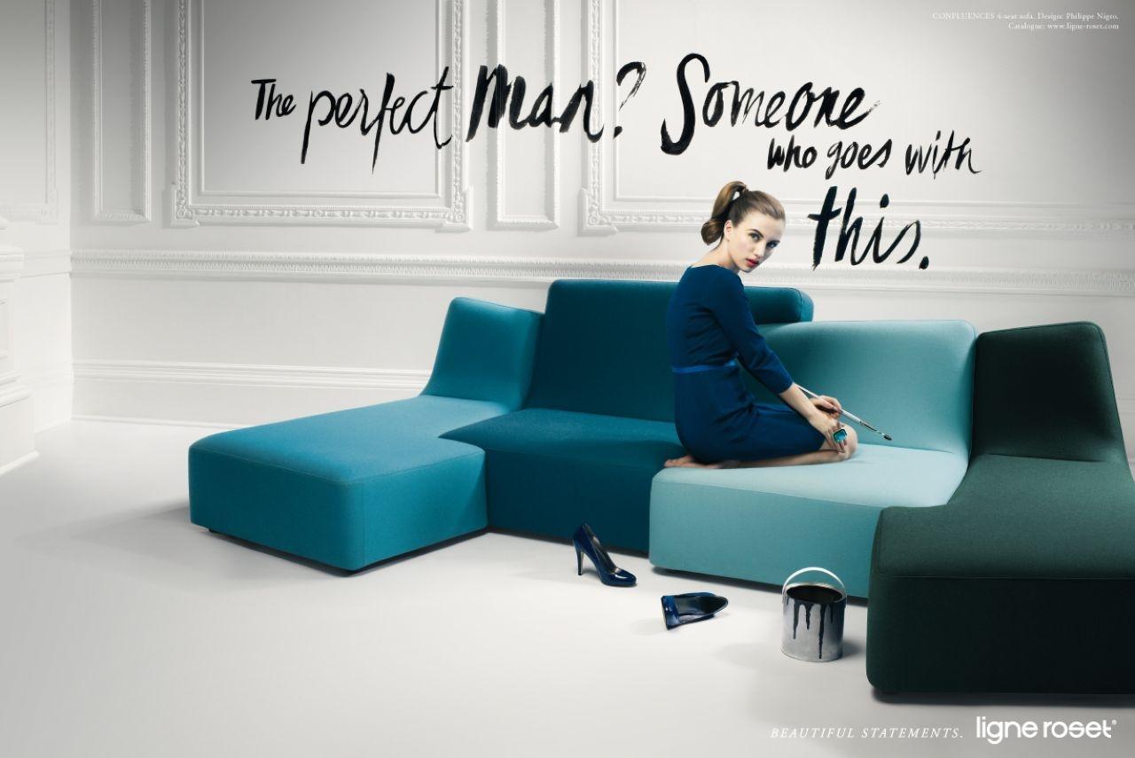 фотографии рекламы по мебели галерею, бросается глаза