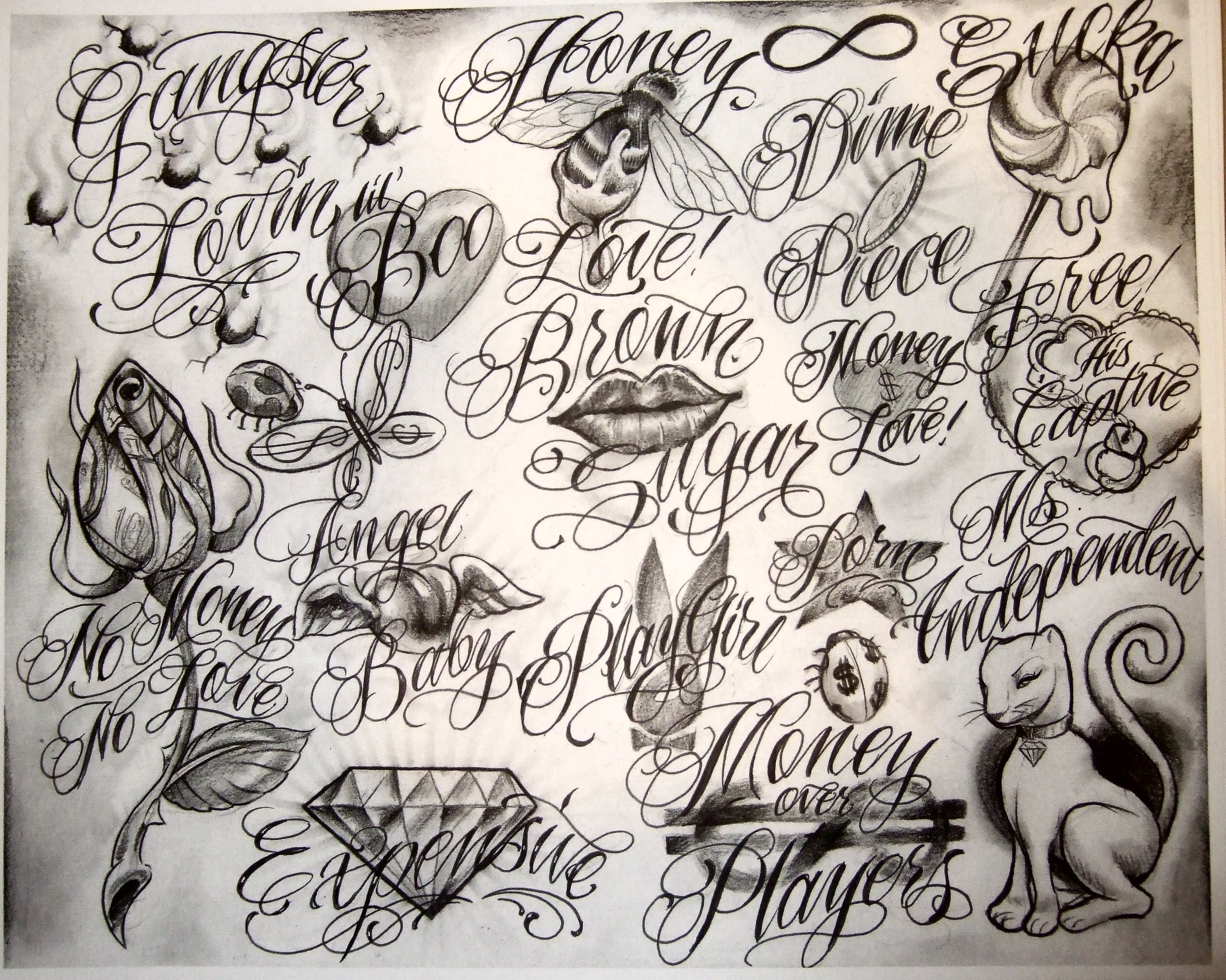 Tattoo Flash by Boog                                            191    Boog Flash Money