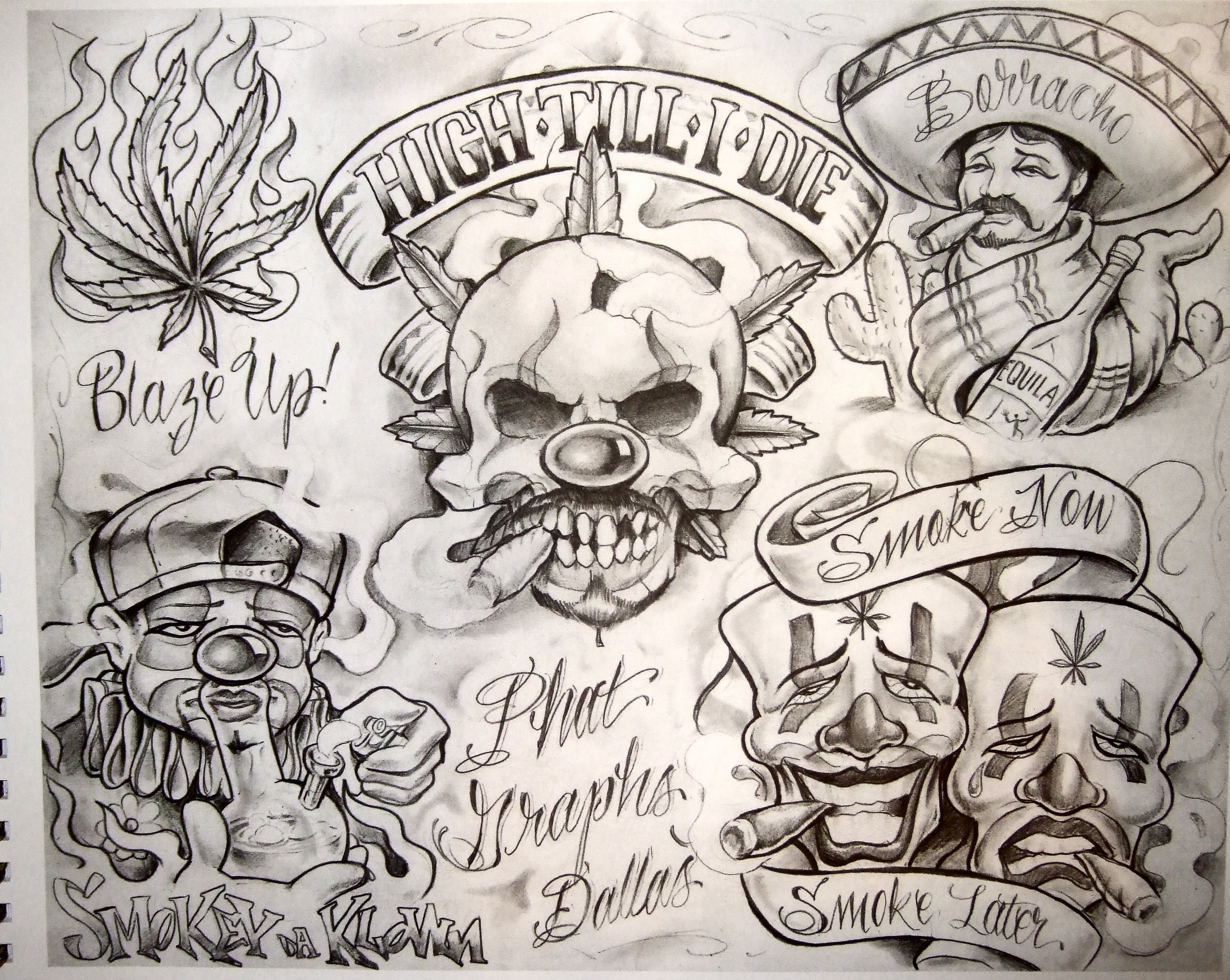 boog tattoo flash