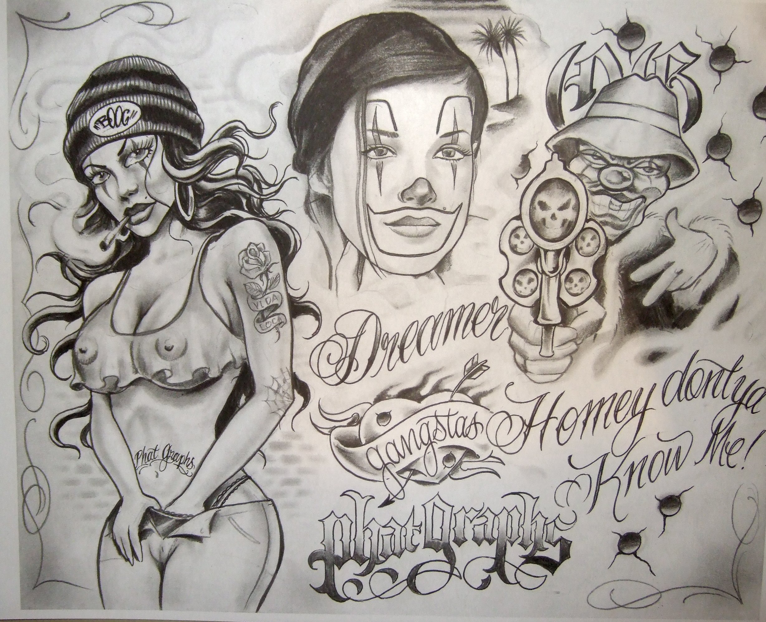 Boog Tattoo Designs