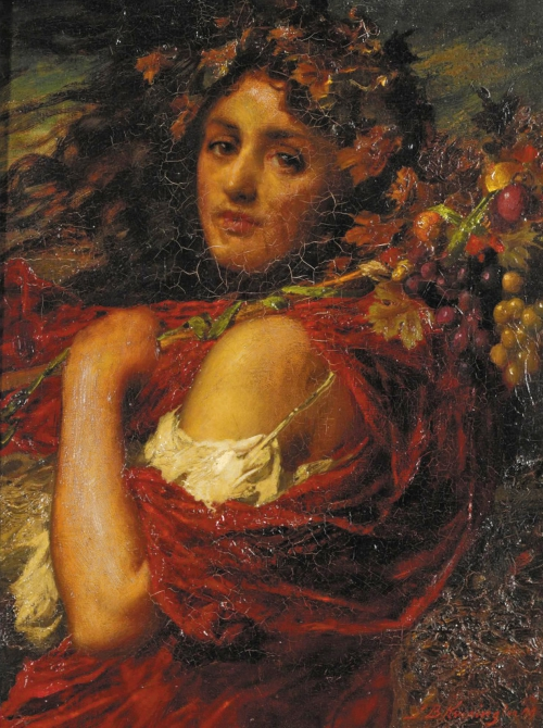 Английский художник Thomas Benjamin Kennington (1856 - 1916) (48 работ)