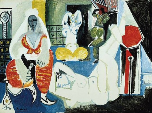 Пабло Пикассо. Портреты Жаклин Рок | 1955-1964 | Pablo Picasso. Portraits of Jacqueline Roque (430 обоев)