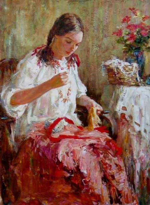 Русский стиль Анны Виноградовой (70 работ)