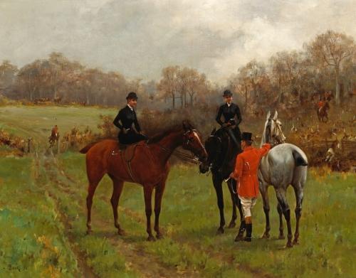 Английский художник Thomas Blinks (1853 -1910) (57 работ)