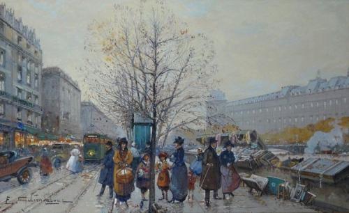 Художник Eugene Galien-Laloue (24 работ)