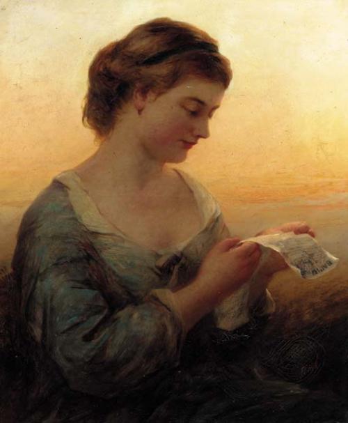 Женский образ в живописи 18-20 веков часть 1 (103 работ)