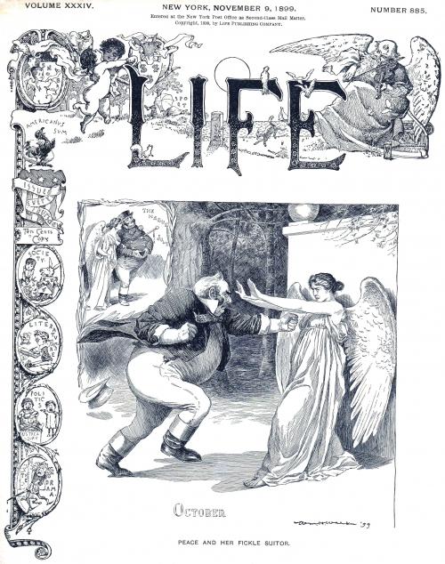 Обложки разных журналов-3 (конец 19 - середина 20 в.в.) (50 страниц)