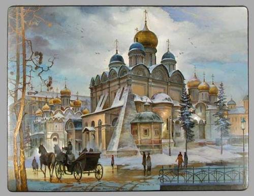 Великолепие Русского промысла. Михаил Шелухин. (36 работ)