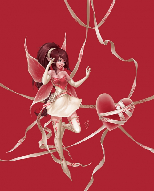 Fairies fairy country artist Anna Ignatieva (47 фото)