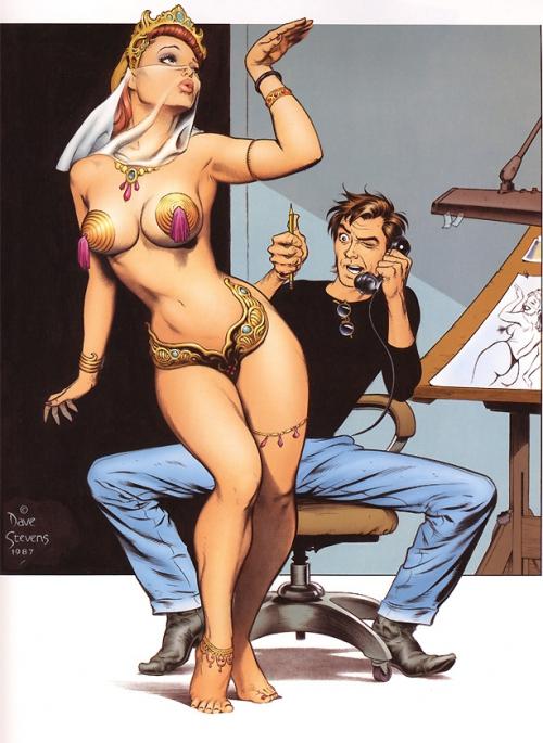 Pin-Up by Dave Stevens (93 работ)