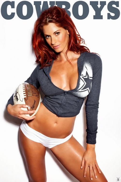 Jaime Edmondson - Ultimate NFL Football Gear (32 фото)